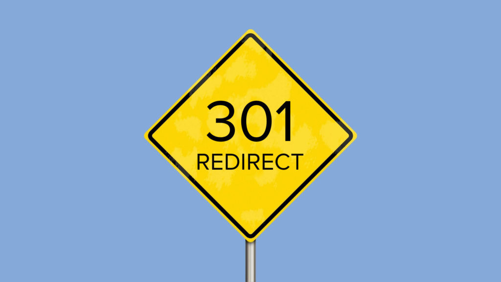 301 redirect sign for tribe digital